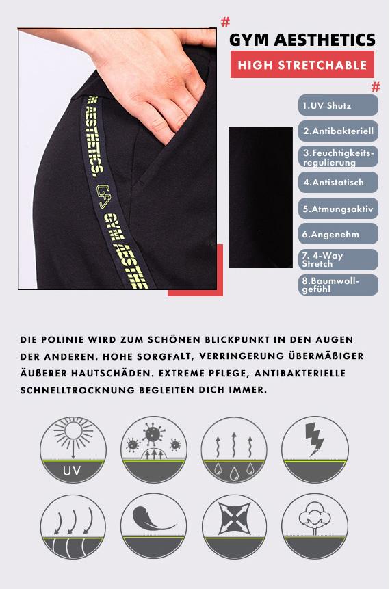 Freizeit Modisch 9 inch Shorts für Damen in Weiß | Gym Aesthetics