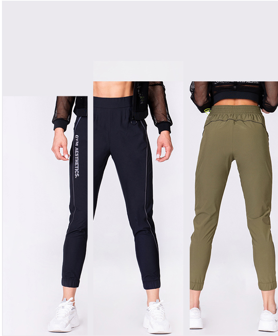 Freizeit Ergonomie Jogginghosen für Damen in Olive | Gym Aesthetics