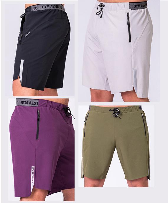 Wesentlich 9 inch Shorts für Herren in Olive | Gym Aesthetics