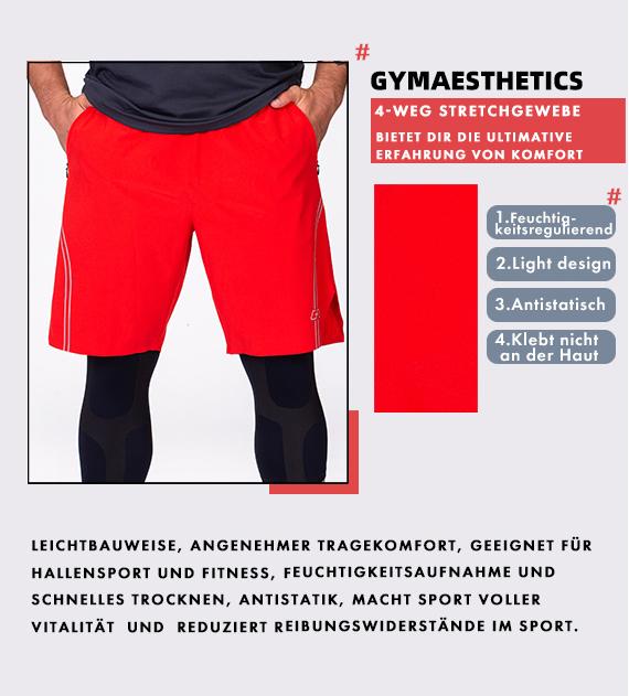 Wesentlich Legende 9 inch Shorts für Herren in Marine | Gym Aesthetics