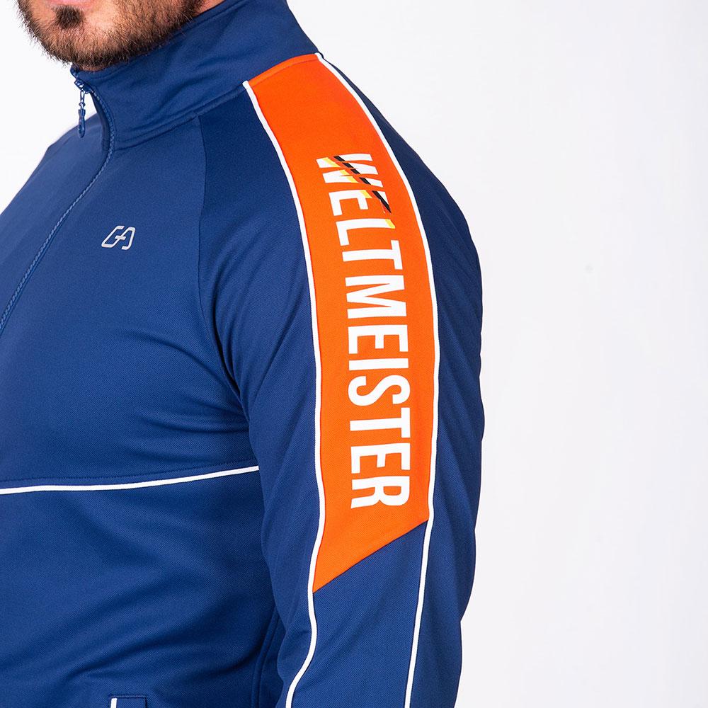 Funktional Anzug Jacke für Herren in Marine | Gym Aesthetics