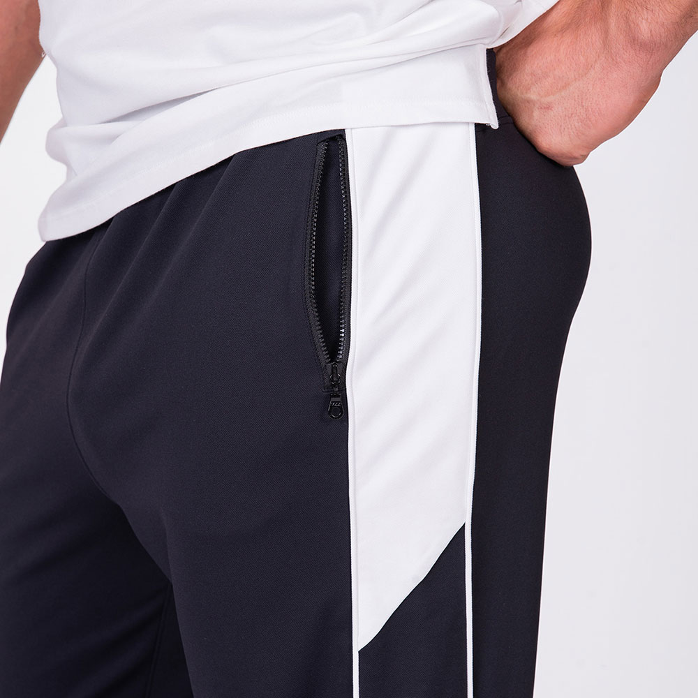 Functional Tracksuit Jogger pants for Men in Black | Gym Aesthetics