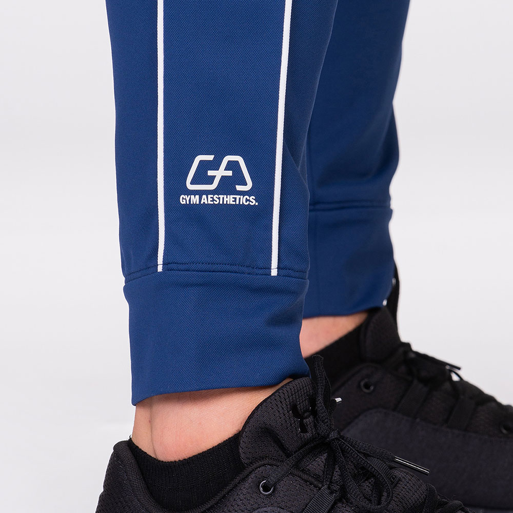 Functional Tracksuit Jogger pants for Men in Navy | Gym Aesthetics
